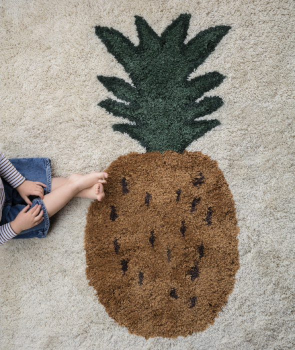 Fruiticana Tufted Pineapple Rugs