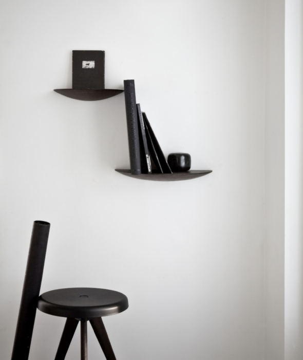 Gridy Fungi Shelves Light Oak