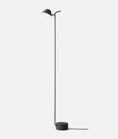 Peek Floor Lamp - 2 Colors Menu - BEAM // Design Store