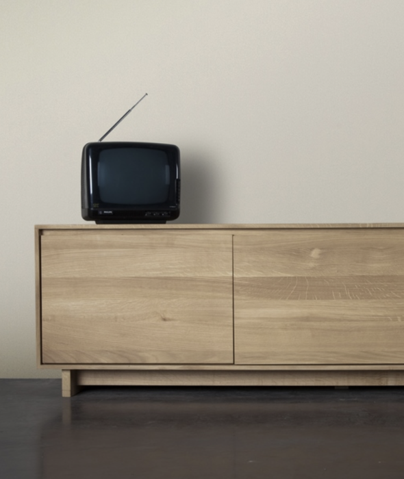 Wave TV Cupboard Ethnicraft - BEAM // Design Store