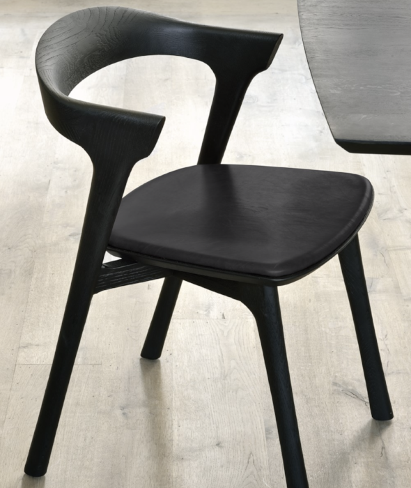 Bok Dining Chairs Leather - 2 Colors Ethnicraft - BEAM // Design Store