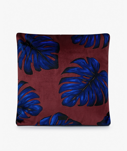 Velvet Leaves Pillow