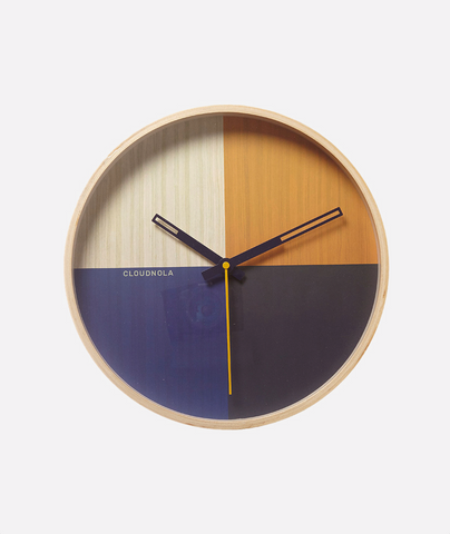 Flor Wall Clock - 3 Colors Cloudnola - BEAM // Design Store