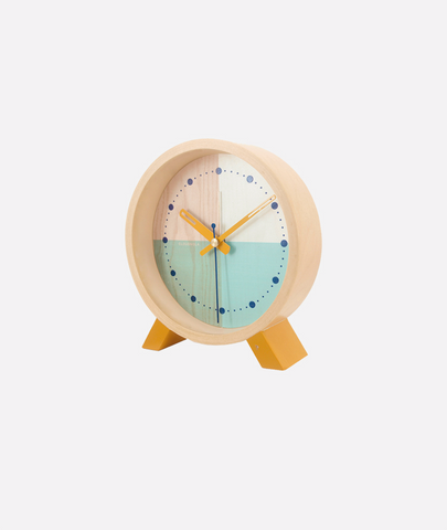Flor Desk Clock - 3 Colors