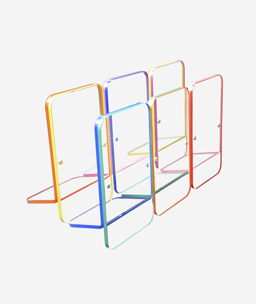 Rainbow Edge Frame - 7 Colors Canetti - BEAM // Design Store