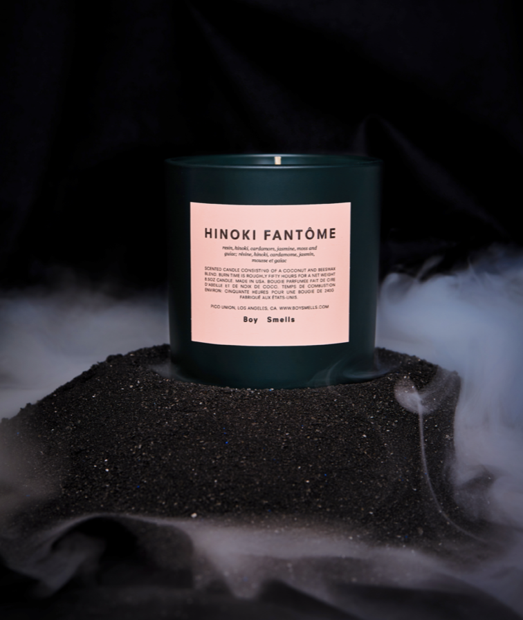 Hinoki Fantome Candle - Limited Edition Boy Smells - BEAM // Design Store