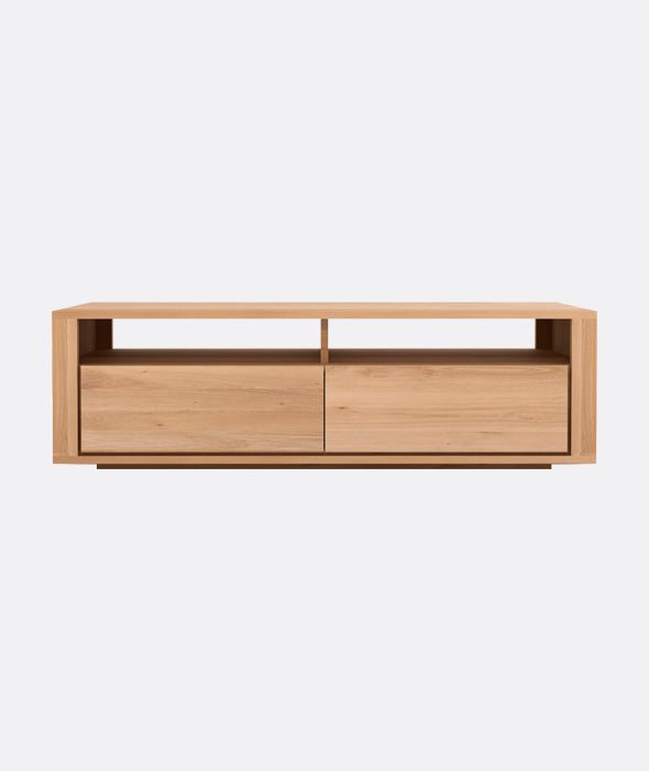 Shadow TV Cupboard - 2 Drawers Ethnicraft - BEAM // Design Store