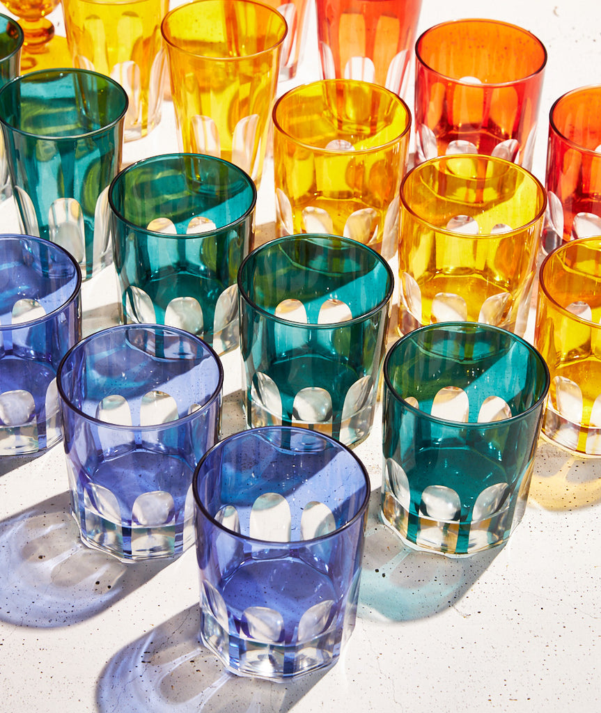 Rialto Glass Old Fashion Set/2 - 4 Colors Sir/Madam - BEAM // Design Store
