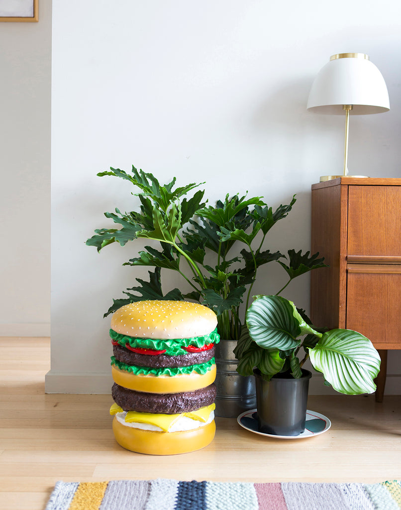 Giant Hamburger Stool Third Drawer Down - BEAM // Design Store