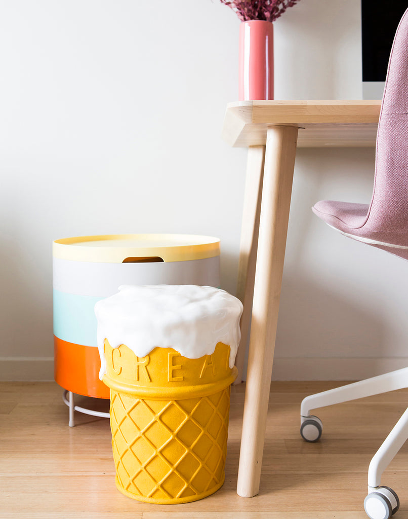 Giant Ice Cream Stool Third Drawer Down - BEAM // Design Store