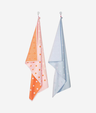 Big Dots Tea Towels Set of 2 Hay - BEAM // Design Store