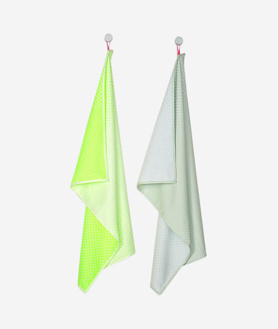 Block Dots Tea Towels Set of 2 Hay - BEAM // Design Store