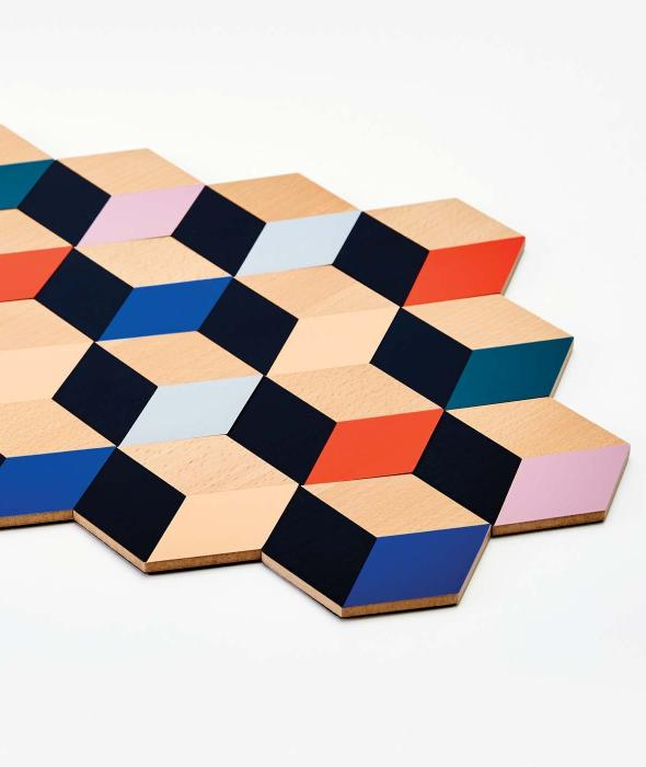 Modern Table Tiles Areaware - BEAM // Design Store
