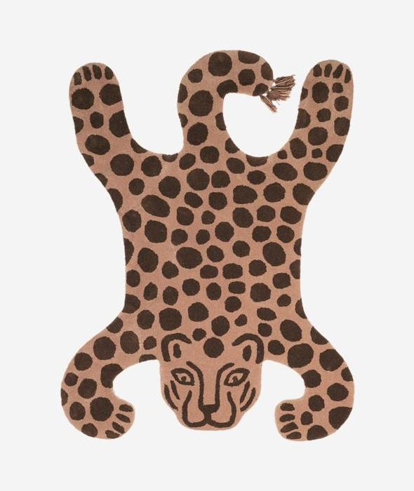 Safari Tufted Rug Leopard Ferm Living - BEAM // Design Store