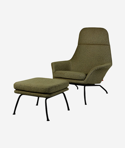 Tallinn Chair + Ottoman - 4 Colors