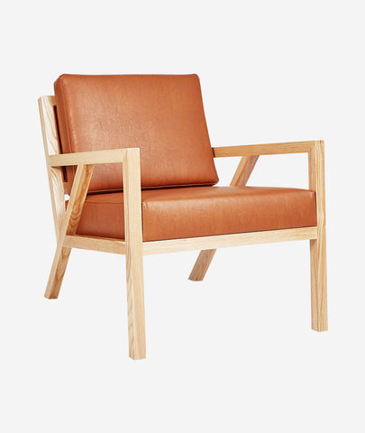 Truss Vegan Leather Chair - 2 Colors Gus* Modern - BEAM // Design Store