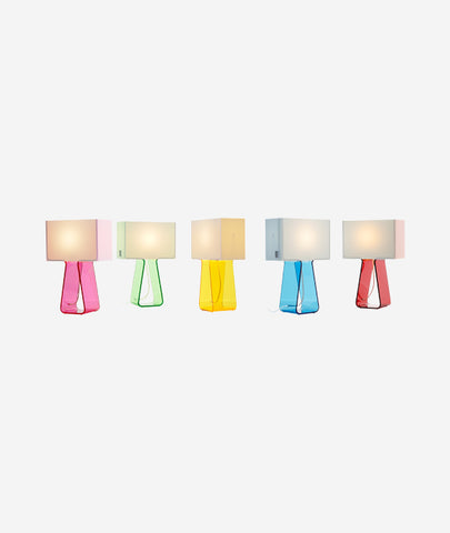 Tube Top Table Lamp - 10 Colors