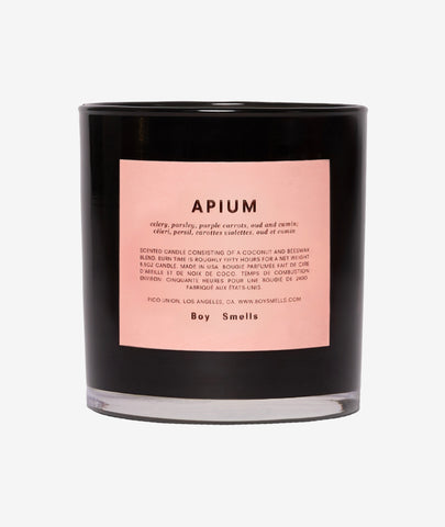Apium Candle Boy Smells - BEAM // Design Store