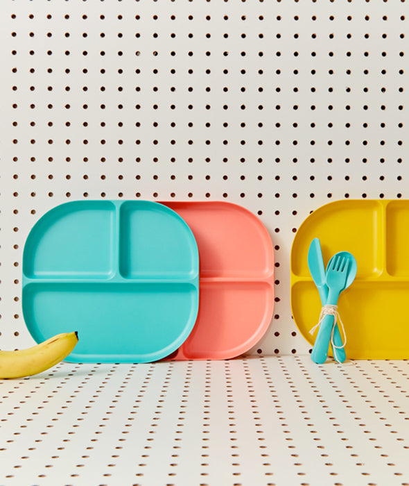 Bamboo Kids Divided Plate - 6 Colors Ekobo - BEAM // Design Store