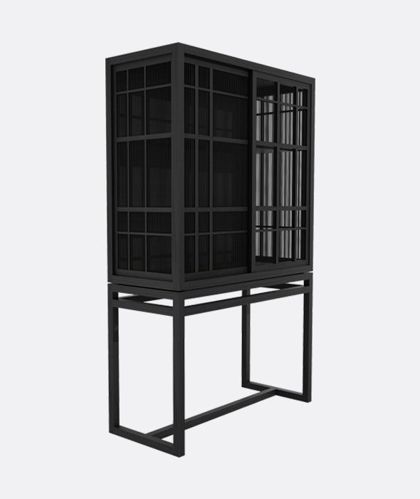 Burung Storage Cupboard - 2 Doors Ethnicraft - BEAM // Design Store
