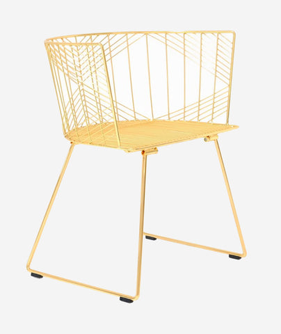 Wire Chairs X Bend Goods Beam Design Store