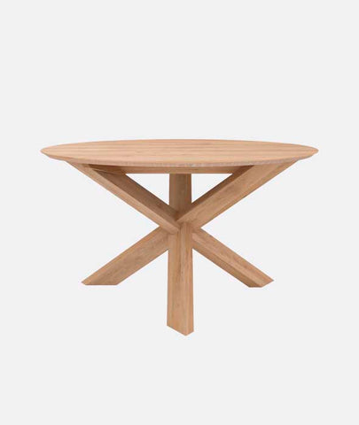 Circle Dining Table Ethnicraft - BEAM // Design Store