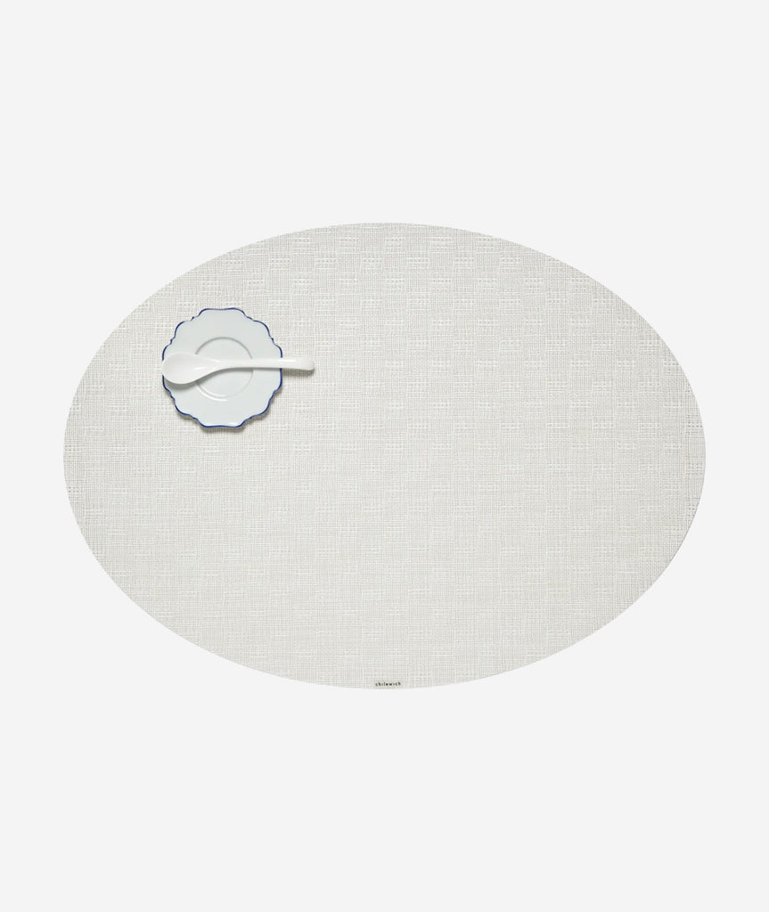 Bay Weave Oval Placemat Set/4 - More Colors