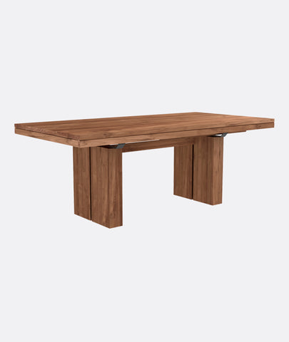 Double Extendable Dining Table - 2 Colors Ethnicraft - BEAM // Design Store