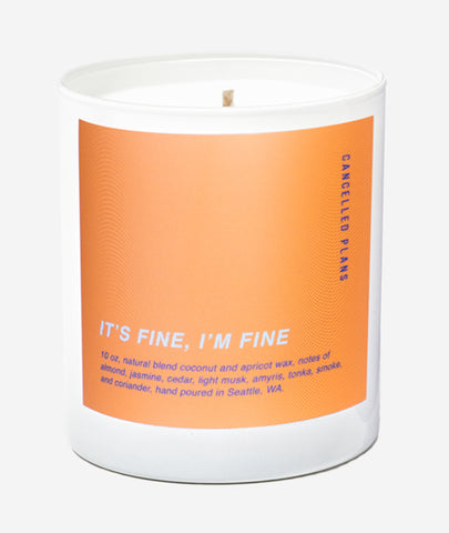 It's Fine, I'm Fine Candle