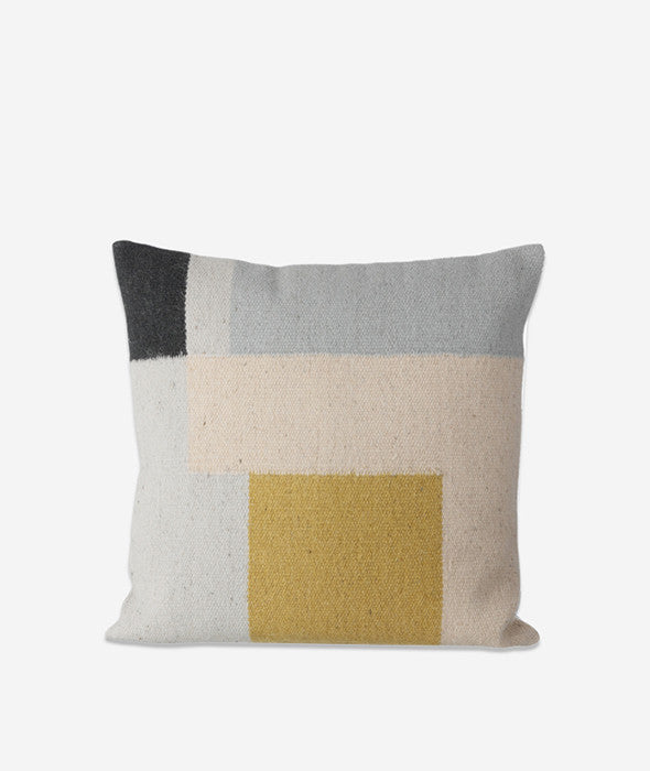 Squares Kelim Pillow Ferm Living - BEAM // Design Store