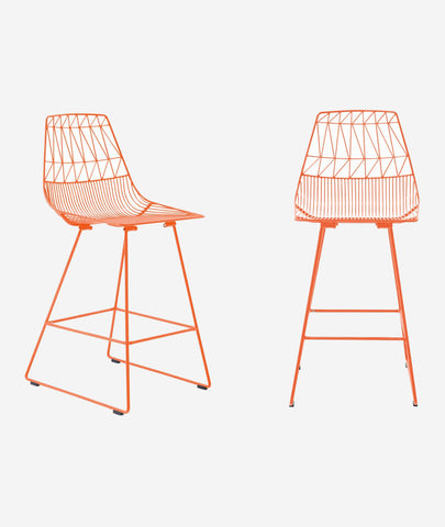 Lucy Counter Stool - 7 Colors