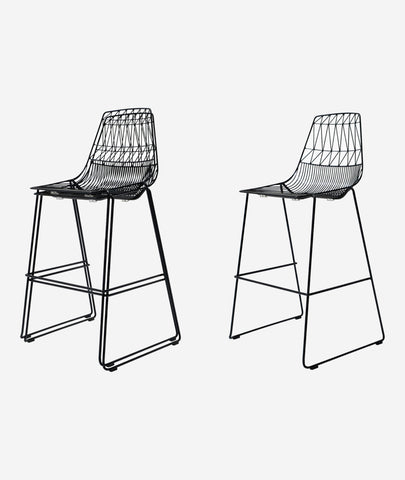 Lucy Stacking Bar Stool - 2 Colors Bend Goods - BEAM // Design Store