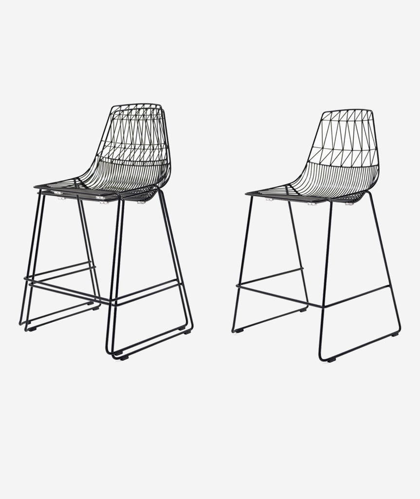 Lucy Stacking Counter Stool - 2 Colors