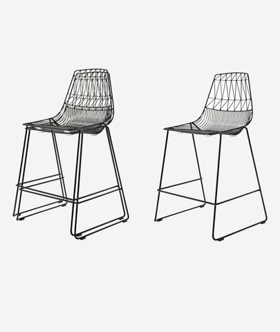 Lucy Stacking Counter Stool - 2 Colors Bend Goods - BEAM // Design Store