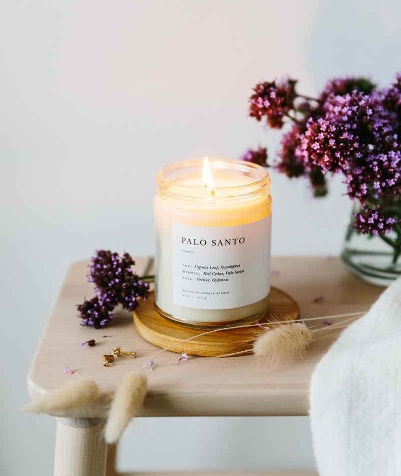 Palo Santo Minimalist Candle BROOKLYN CANDLE STUDIO - BEAM // Design Store