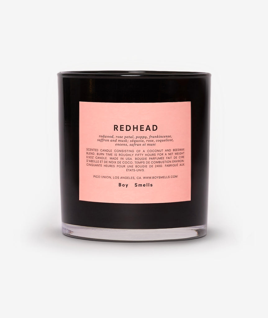 Redhead Candle Boy Smells - BEAM // Design Store