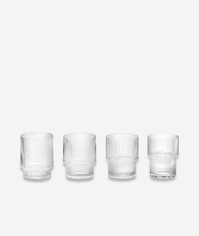 Ripple Glasses Set/4 Ferm Living - BEAM // Design Store