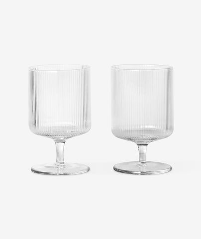 Ripple Wine Glass Set/2 Ferm Living - BEAM // Design Store