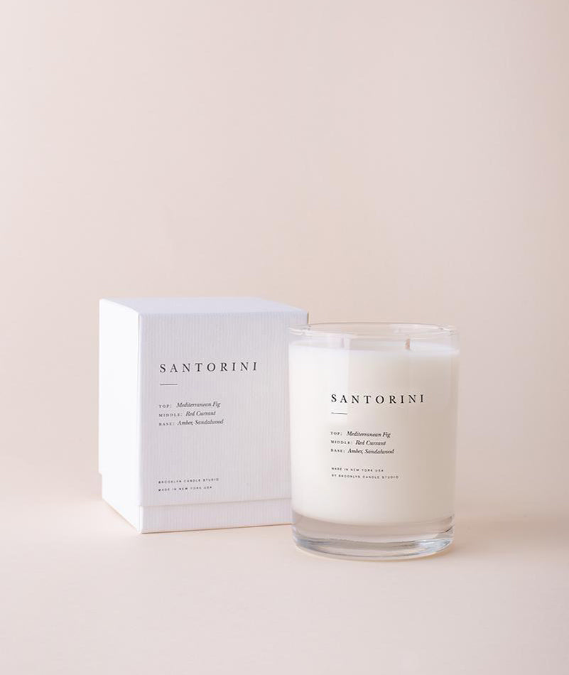 Santorini Escapist Candle BROOKLYN CANDLE STUDIO - BEAM // Design Store