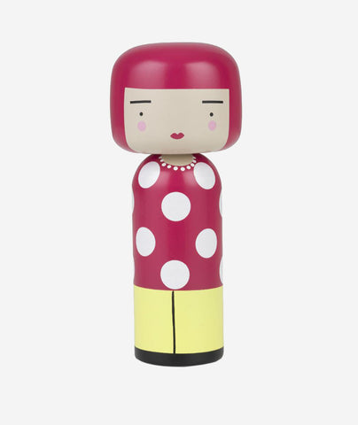 Dot Kokeshi Doll - 2 Sizes Sketch.inc for Lucie Kaas - BEAM // Design Store