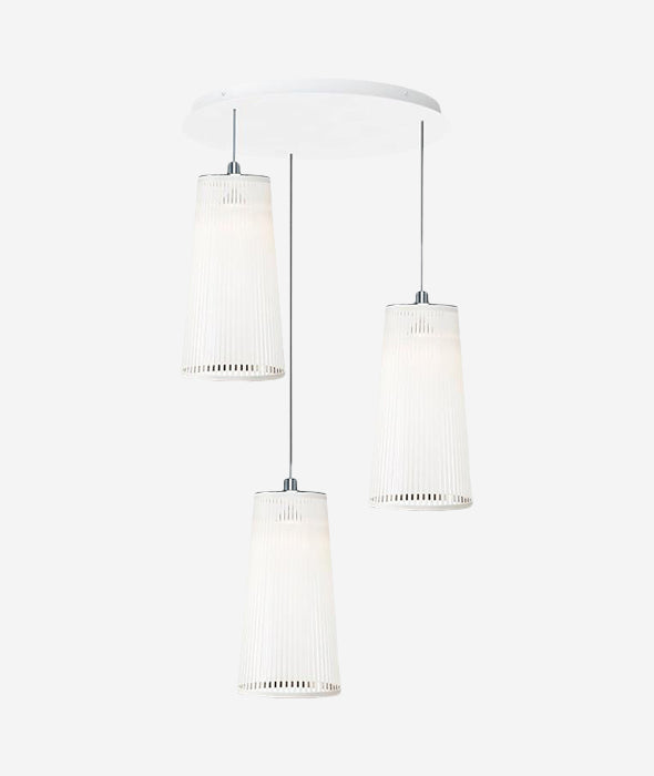 Solis 3 Pendant Chandelier - 4 Colors Pablo - BEAM // Design Store