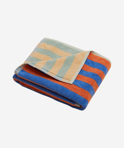 Peach Stripe Hand Towel Dusen Dusen - BEAM // Design Store