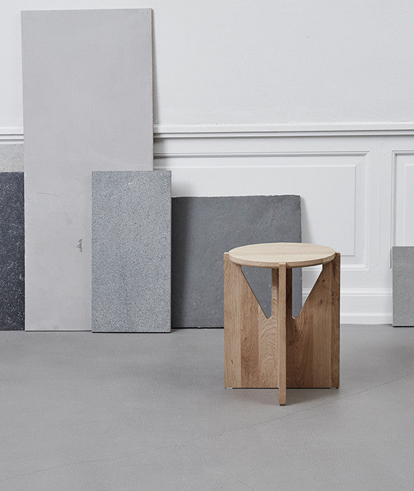 Architectural Side Table Kristina Dam Studio - BEAM // Design Store