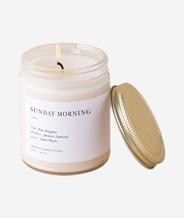 Sunday Morning Minimalist Candle BROOKLYN CANDLE STUDIO - BEAM // Design Store