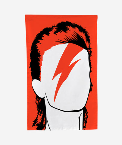 David Bowie Tea Towel Bold & Noble - BEAM // Design Store