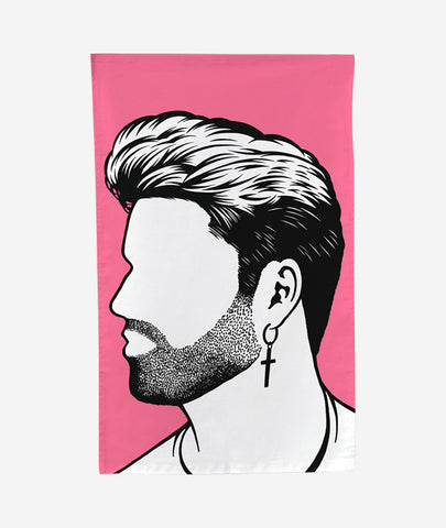 George Michael Tea Towel