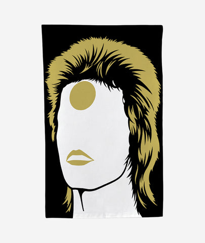 Ziggy Stardust Tea Towel Bold & Noble - BEAM // Design Store