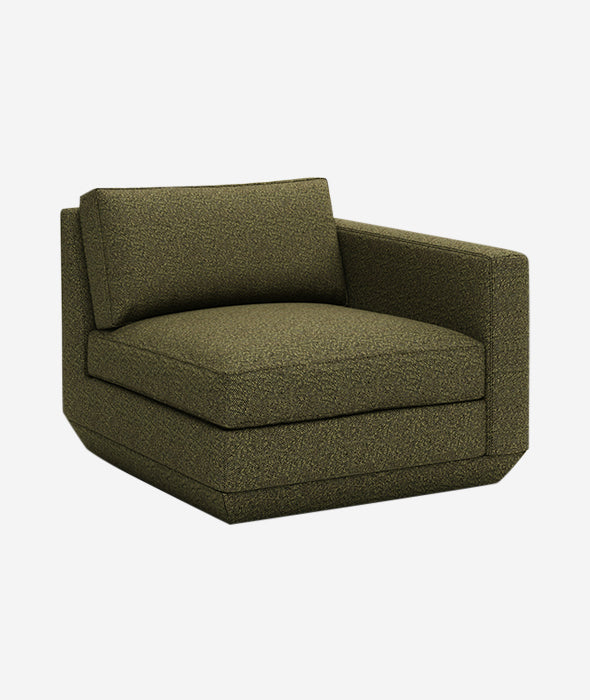 Podium Modular Left + Right Armchair - 4 Colors