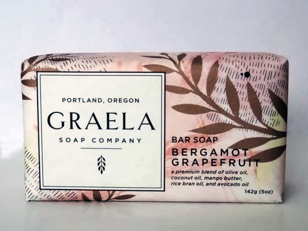 Bergamot Grapefruit Bar Soap