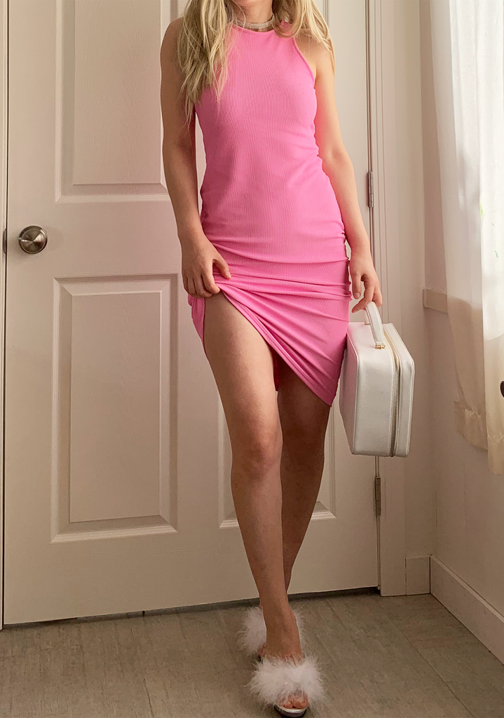 Barbie Pink Tank Dress